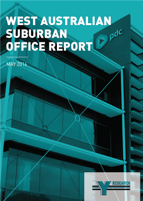 New from Y Research May 2016 West Australian Suburban Office Report